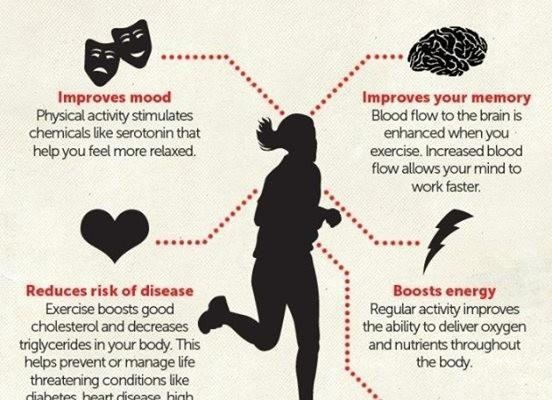 How regular exercise can keep you fit